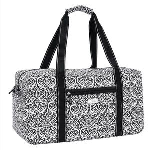 Black and White Scout Weekend Duffel ❤️❤️